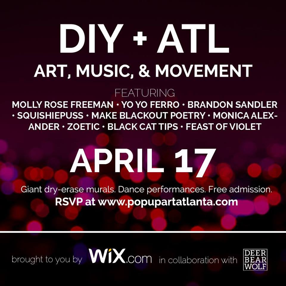 TOP 5 | DIY + ATL Pop-Up Art Fest | CommonCreativ ATL